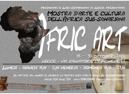 AfricArt Mostra d'arte cultura dell'Africa Sub – Sahariana