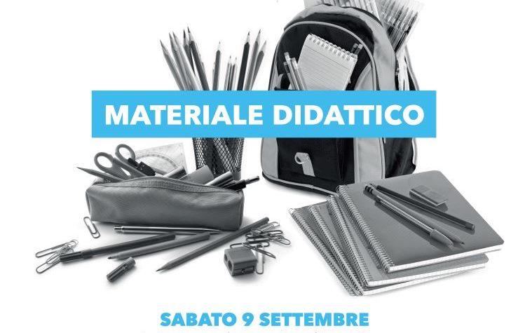 Progetto Dona la Spesa – Raccolta di materiale didattico c/o Ipercoop – 09 settembre 17